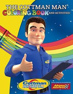 the cottman man coloring book