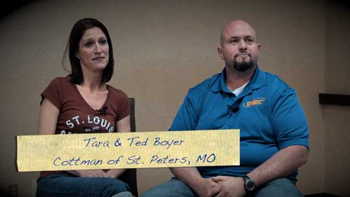 Tara and Ted Boyer - Cottman Franchisee Testimonial