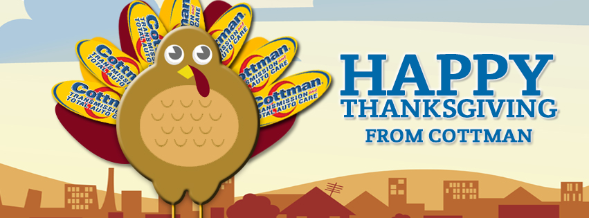 Traveling On Thanksgiving - Cottman Man - Cottman Transmission and Total Auto Care