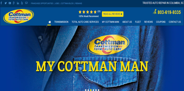 Cottman New Website - Cottman Man - Cottman Transmission and Total Auto Care