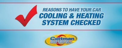 reasons to have your cars heating and air conditioning system checked