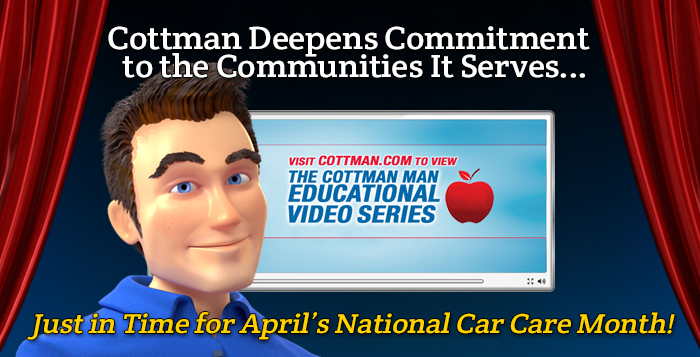 Cottman Giving back to community Cottman Man Blog, Cottman Transmission and Total Auto Care