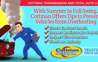 7-18-16 - Cottman Shares Tips to Prevent Vehicles from Overheating