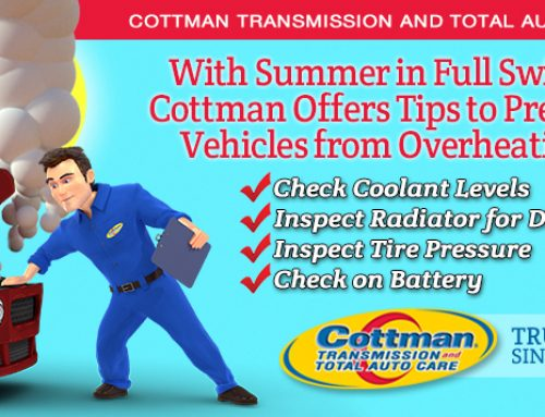 Cottman Transmission and Total Auto Care Shares Tips to Prevent Vehicles from Overheating