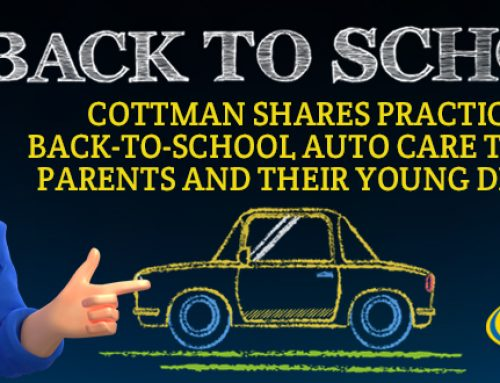 Cottman Transmission and Total Auto Care Shares Practical Back-to-School Auto Care Tips for Drivers