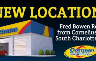 9-6-16 - Fred Bowen Relocates from Cornelius to South Charlotte