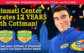 Cincinnati Center Celebrates 12 Years with Cottman