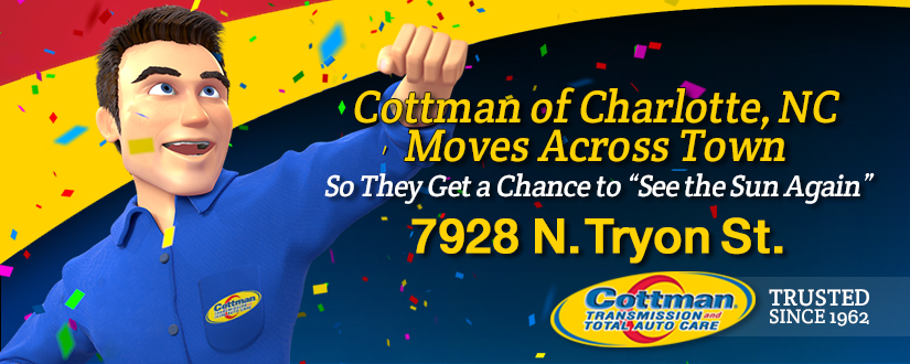 """Cottman of Charlotte, NC, Moves Across Town  So They Get a Chance to """"See the Sun Again"""""""