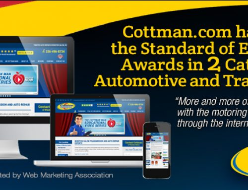Cottman.com Receives Two Awards from the Web Marketing Association