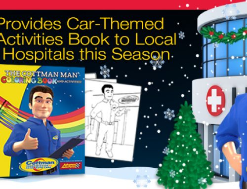 Cottman Transmission and Total Auto Care Releases Coloring Book in Time for Holiday Season; Bringing Cheer to Children