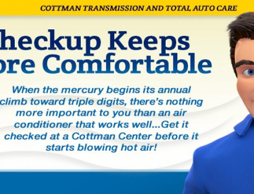 A/C Checkup Keeps You More Comfortable