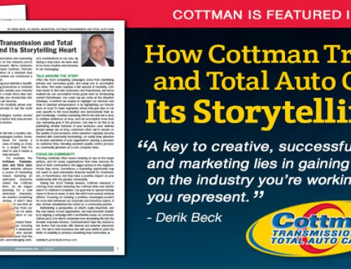 How Cottman Transmission and Total Auto Care Found Its Storytelling Heart