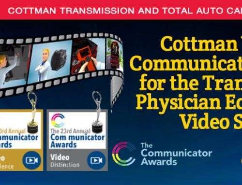Cottman Transmission and Total Auto Care's Web Series Honored With Two Communicator Awards For Creative Excellence