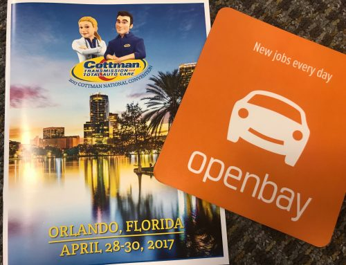 Openbay Took Part at the Cottman Transmission and Total Auto Care National Convention
