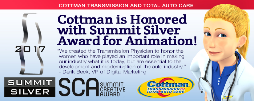Cottman Transmission and Total Auto Care Honored with ...