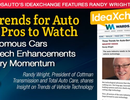 Three Trends for Auto Service Pros to Watch