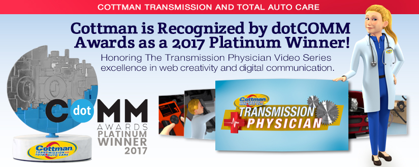 dotCOMM Awards Recognizes Cottman Transmission and Total Auto Care Honored with Platinum Award ...