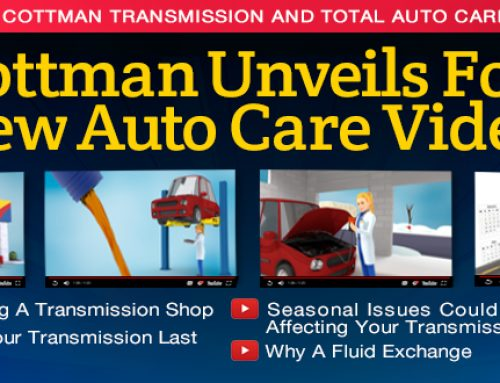 Cottman Transmission and Total Auto Care Unveils  Four New Auto Care Videos